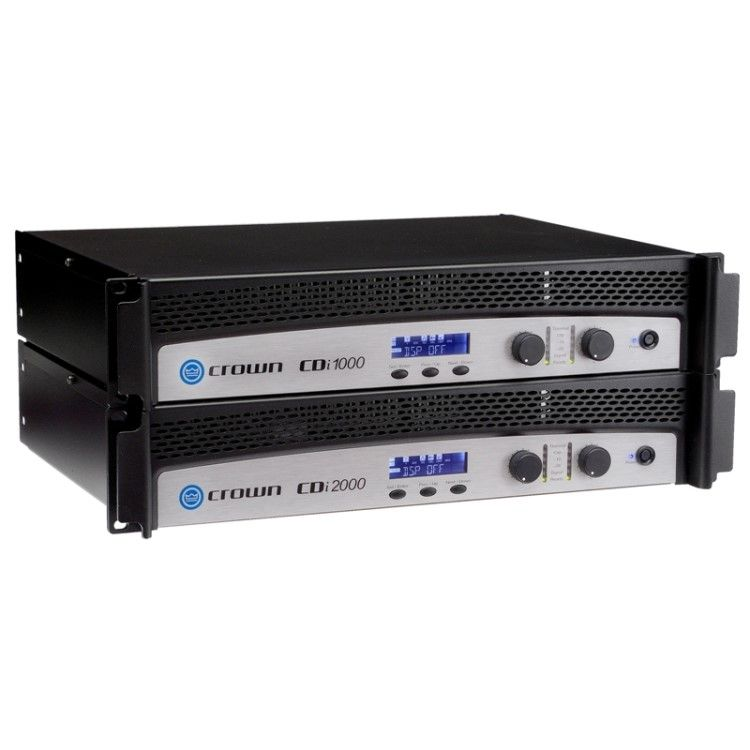 Crown Cdi Series Amplifiers