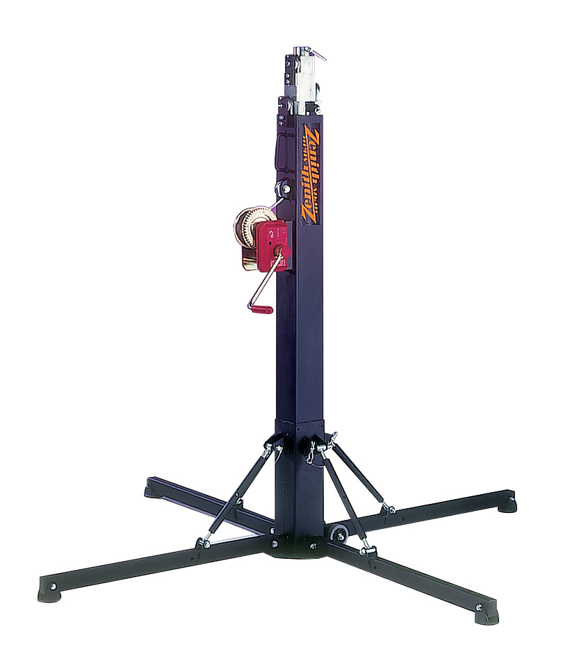 Stage curtains and rigging - Zenith Winch Stand Turnbuckle Base Swl 200kg