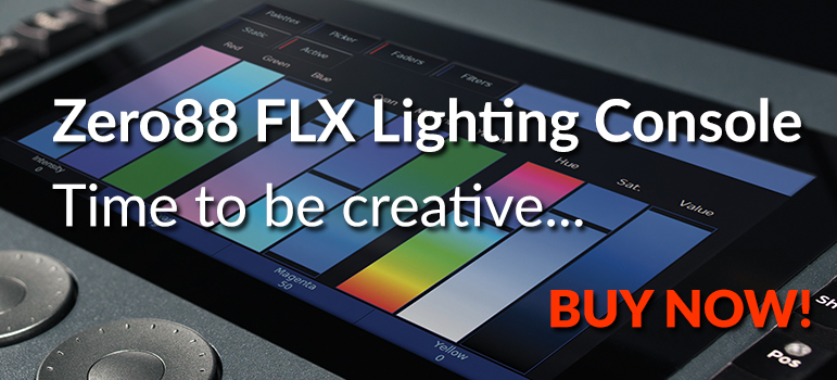 Zero88 FLX Lighting Console