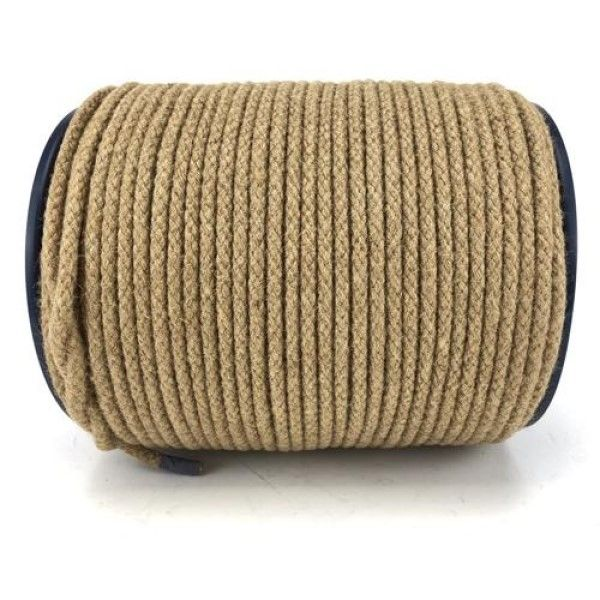 Natural Jute Sash Cord - 100M Roll